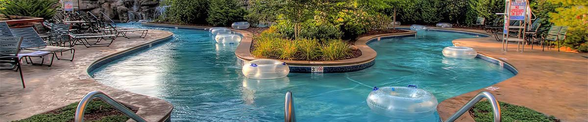 Hotels with Lazy Rivers in Gatlinburg Tennessee